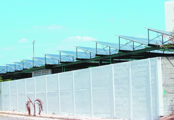 La dependencia instalará paneles solares en sus plantas y edificios. (Jorge Acosta)