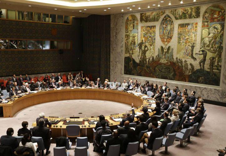 Se necesitaba el respaldo de al menos nueve países miembros para ser aprobada el proyecto en favor de Palestina. (Foto de AP)