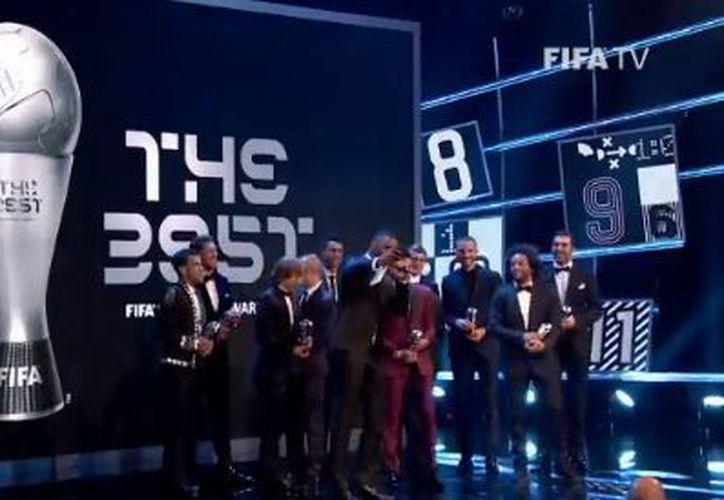 El 11 ideal FIFPro será anunciado en la ceremonia de entrega de los premios The Best de la FIFA. (Twitter)