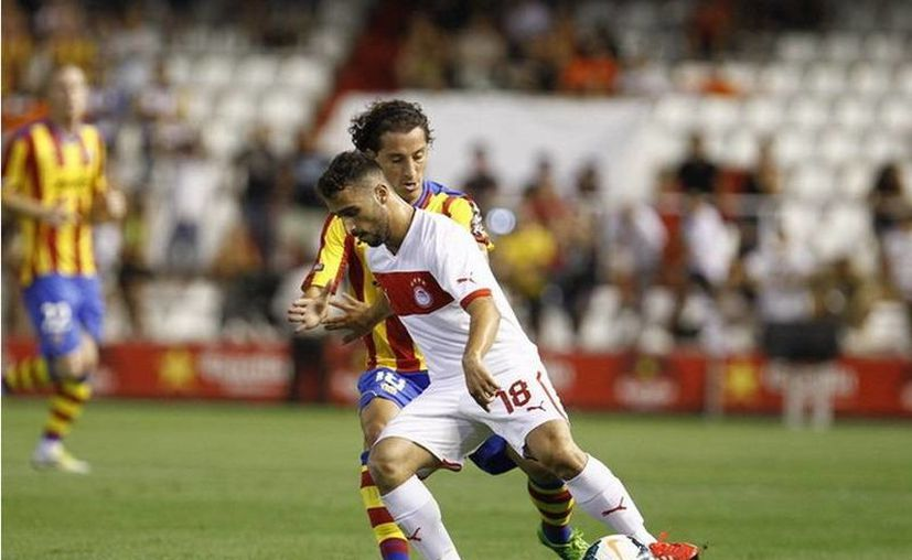 El partidfo contra la escuadra griega sirvió para Guardado recuperara el ritmo del juego, tras el prolongado descanso al que se vio obligado. (valenciacf.com)