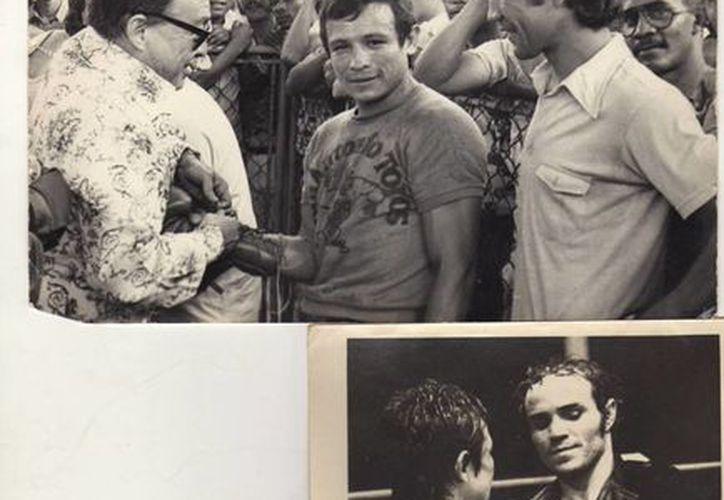 Era tanto el amor de Miguel Canto al deporte de los puños que nunca dejaba de entrenar y se consideraba a sí mismo un <i>obrero del ring</i>. (Cortesía)