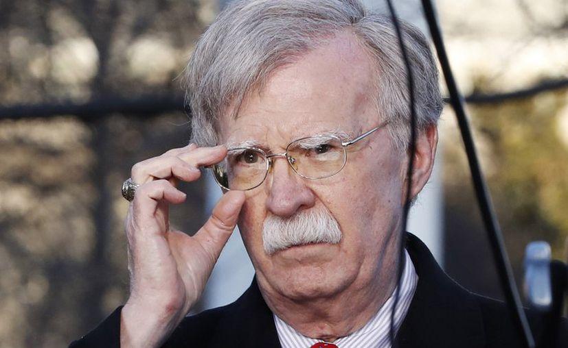 Asesor de Seguridad Nacional de Estados Unidos, John Bolton en la Casa Blanca en Washington. (Foto Archivo/AP, Jacquelyn Martin)