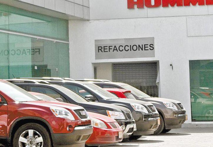 Se espera un buen pronóstico de ventas de vehículos en México para este diciembre. (Cuartoscuro/Milenio)