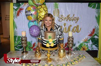 Verónica Camacho, celebra su cumpleaños
