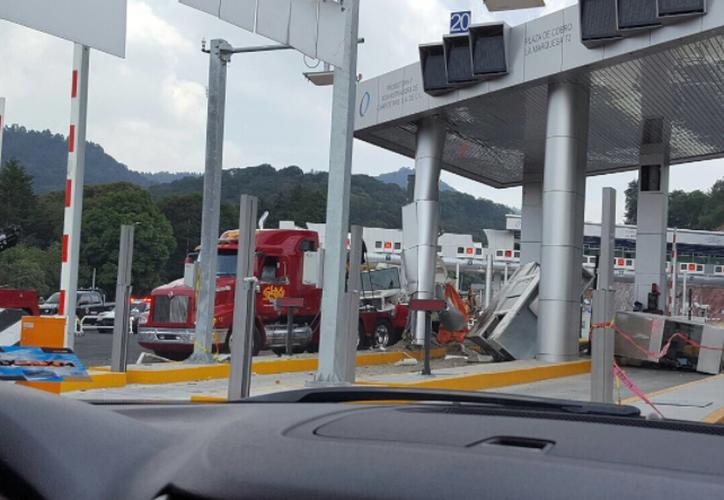 El sábado pasado un vehículo de carga ocasionó un accidente. (López Dóriga Digital)