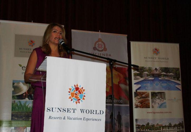 Érika García dijo que se busca consolidar la visita del mercado sudamericano. (Yenny Gaona/SIPSE)