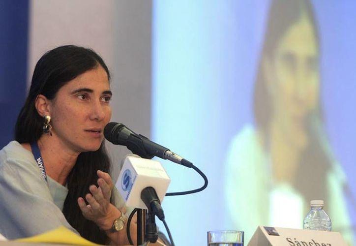La bloguera cubana Yoali Sánchez participó en la  reunión de la SIP. (SIPSE)
