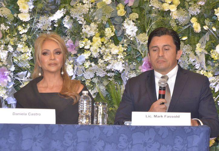 Daniela Castro regresó a México luego de ser acusada de robo en una tienda de Estados Unidos. (Agencia México)