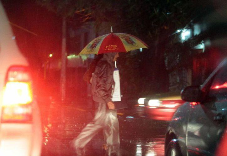 La Conagua alertó de fuertes lluvias en los estados de Coahuila, Nuevo León y Tamaulipas. (Notimex)