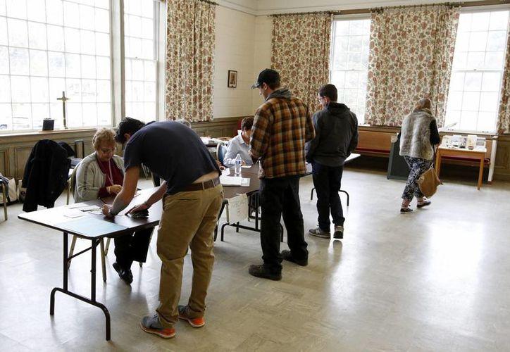 El estado de Michigan no ha sido adjudicado a ninguno de los candidatos debido al margen tan escaso que existe entre ambos. (EFE)