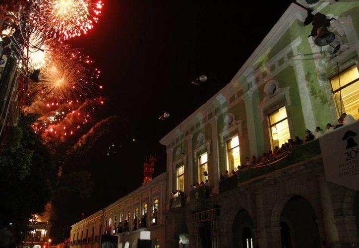 Desde las 21 horas habrá diversos espectáculos musicales y sorpresas en el Centro Histórico por motivo del Grito de Independencia. (Milenio Novedades)