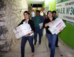 ¡Wow! Paquetes electorales con rastreo digital