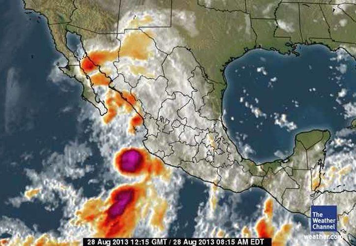 Se pronostican lluvias de moderadas a fuertes durante este miércoles, la temperatura mínima será de 22 grados centígrados. (espanol.weather.com)