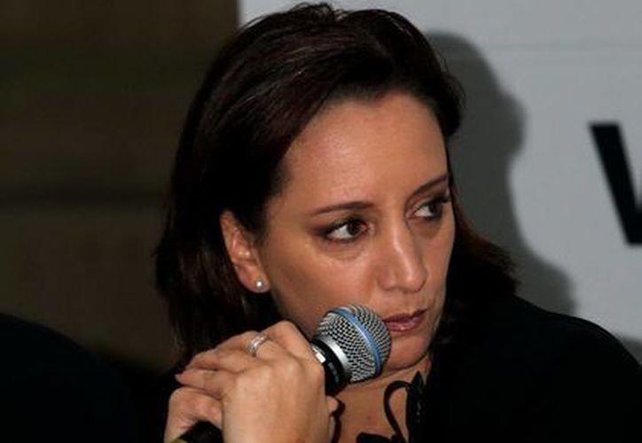 Titular de la Sectur, Claudia Ruiz Massieu. (Archivo Notimex)