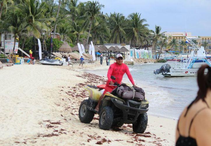 Implementan recorridos motorizados a lo largo de la zona costera. (Daniel Pacheco/SIPSE)