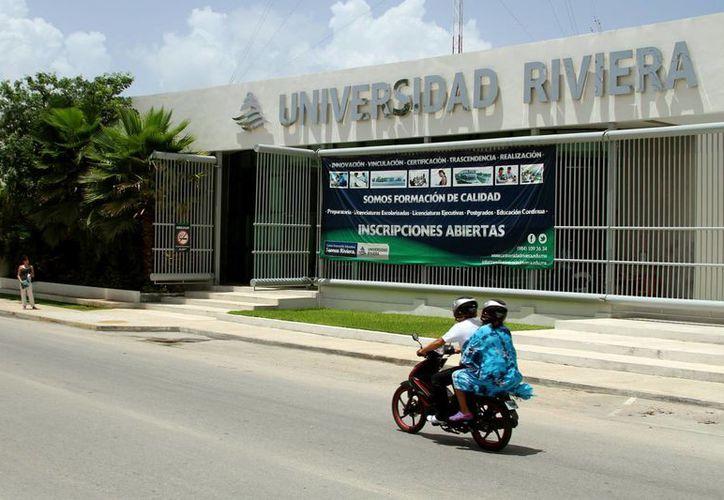 La matrícula de la Universidad Riviera aumentó 40% en los dos últimos años. (Adrián Barreto/SIPSE)