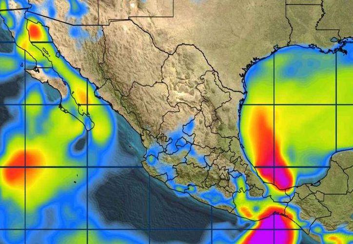 Para hoy se espera cielo nublado, la probabilidad de lluvias es del 40% en Chetumal. (Conagua)