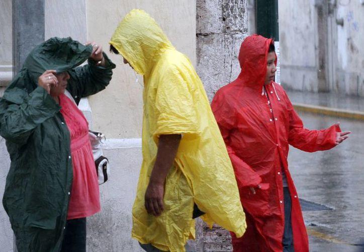 Se esperan lluvias fuertes en municipios del oriente y la costa norte de Yucatán. (SIPSE)