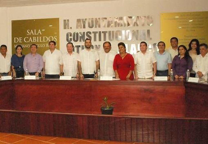 El Cabildo pactó que la próxima sesión solemne se lleve a cabo el 3 de diciembre. (Cortesía/SIPSE)