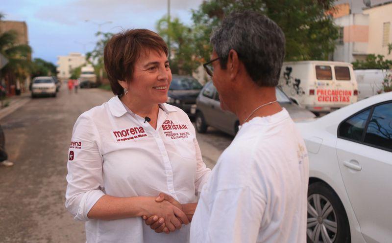 Laura Beristain Navarrete hizo un llamado a los candidatos a que este debate sea de propuestas. (Foto: Redacción)