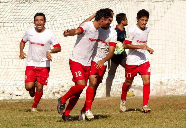 Los Guerreros de Kanasín (foto) visitarán a FC Itzaes, en el estadio Carlos Iturralde Rivero, el próximo domingo por la tarde.(Milenio Novedades)