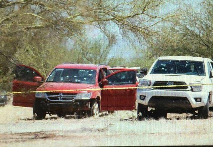 Los hechos ocurrieron cerca de una estación de gasolina en la carretera federal México 15, tramo Guaymas-Hermosillo. (Excélsior)