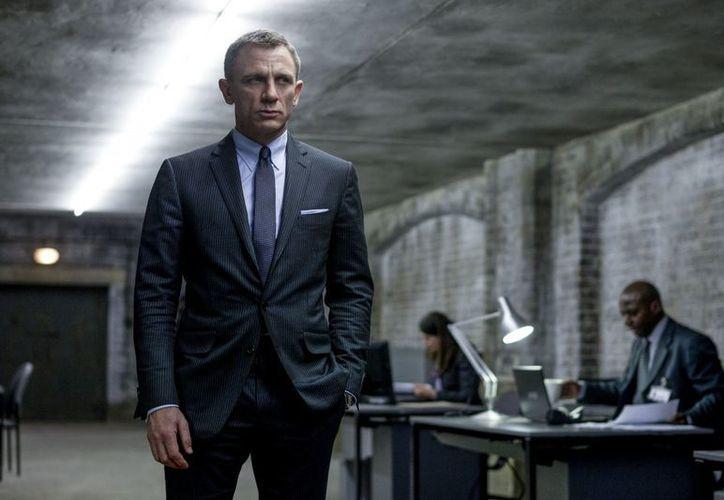"""El inglés Daniel Craig ha interpretado al agente 007 en las más recientes películas sobre James Bond, incluida """"Skyfall"""". (Agencias)"""