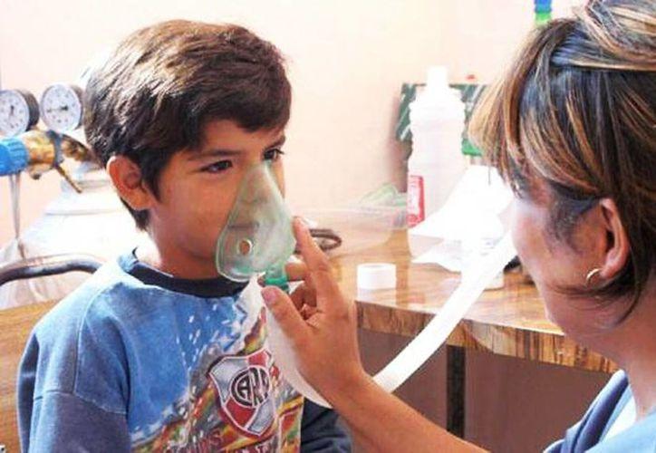 Las condiciones ambientales propician el asma. (Milenio Novedades)