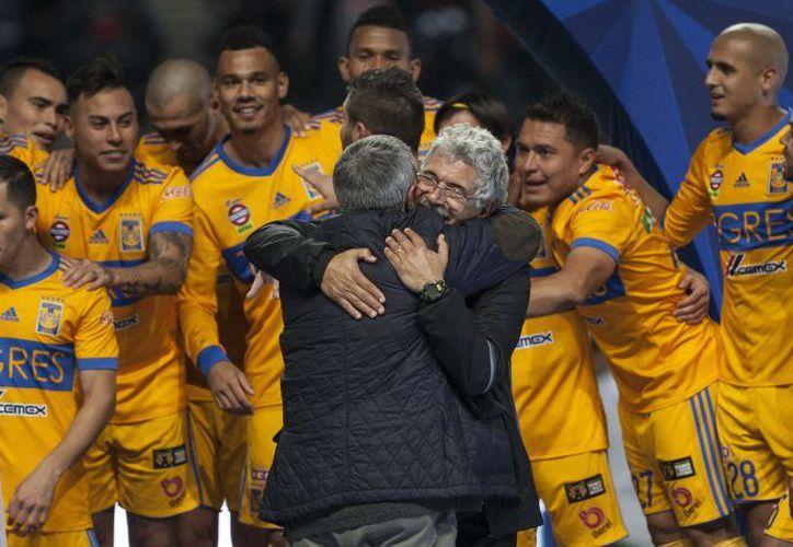 Tras derrotar a Rayados con un marcador global de en la Final de la Liga MX, Ferretti posicionó a los Felinos en la cima de la cúspide.  (Foto: Televisa Deportes)