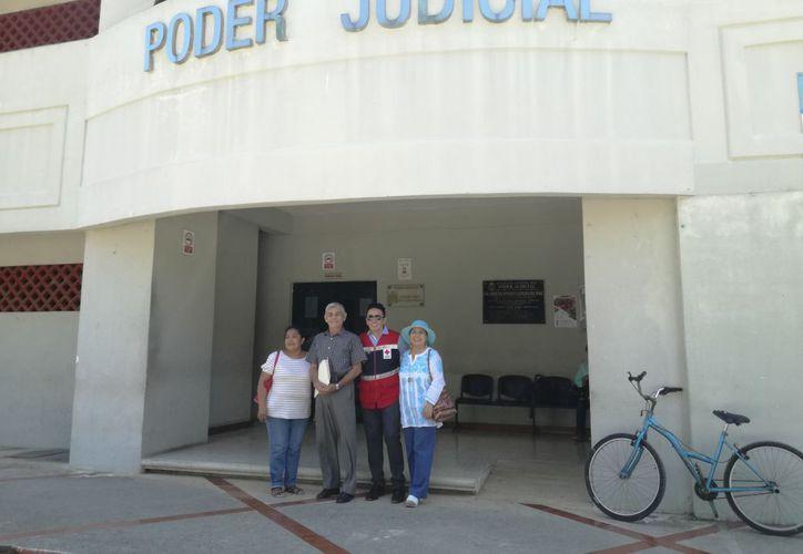 A las 11:30 de la mañana se tenía programada una audiencia, pero el juez no se presentó. (José Chi/SIPSE)
