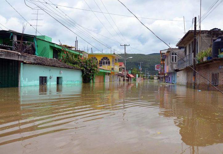 La contingencia meteorológica afectó a 74 de los 81 municipios de Guerrero. (Notimex)