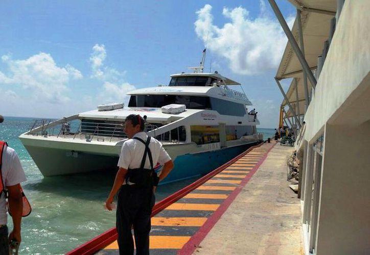 Se comenzará a percibir el incremento de actividad en los viajes de ferrys. (Daniel Pacheco/ SIPSE)