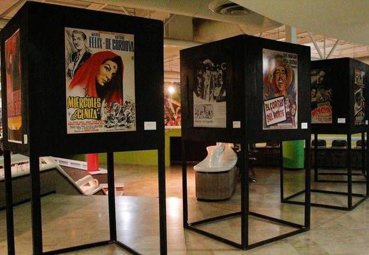 El primer Museo de cine mexicano resguardará los archivos fílmicos más importantes de México.Foto de contexto de museo sobre cine.(Notimex)