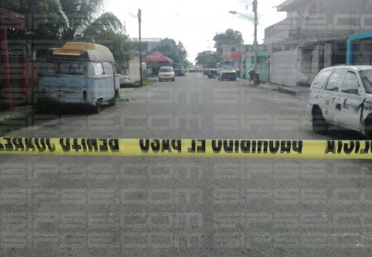 Los hechos ocurrieron en la Región 103 de Cancún. (Orville Peralta/ SIPSE)