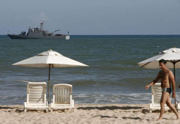 La Marina de Brasil prevé el uso de 30,000 militares y de 60 navíos en el operativo de seguridad con motivo del Mundial de futbol. (EFE/Archivo)