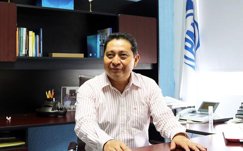 Edgar Ramírez Pech, presidente estatal de Acción Nacional.  (Milenio Novedades)