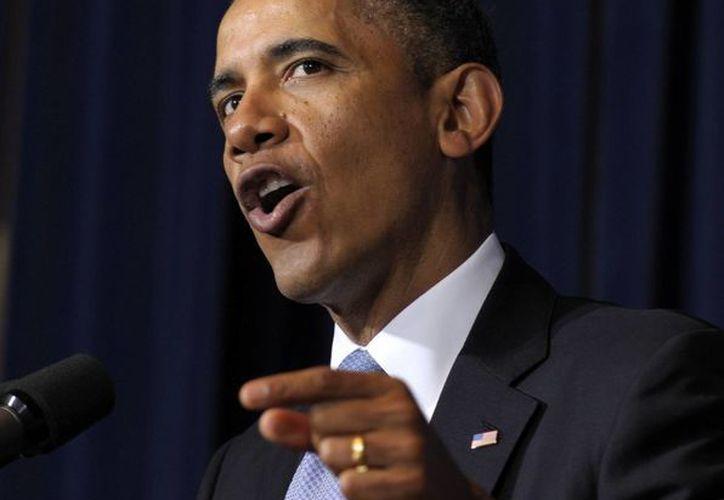 Obama recordó que su gobierno ha llevado a acabo esfuerzos para promover el empoderamiento económico de las mujeres. (Agencias)