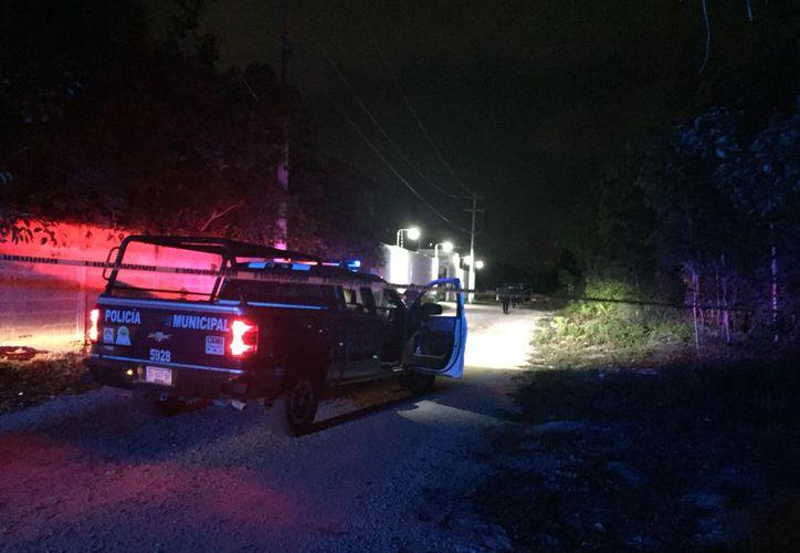 La policía encontró el cadáver alrededor de la primera hora de ayer. (Redacción/SIPSE)