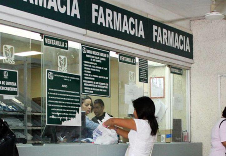 El Seguro Social cumple su meta en la cobertura de medicamentos, tanto en las unidades médicas de Mérida como en el resto de Yucatán. (Milenio Novedades)