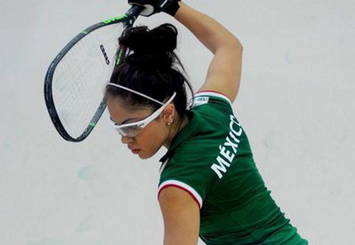 La raquetbolista mexicana es una de las principales figuras a seguir en los Centroamericanos de Veracruz 2014. (Foto: Jam Media)