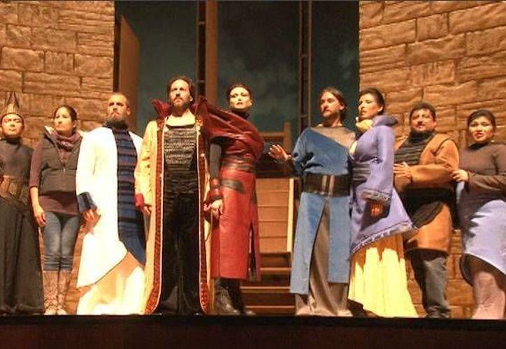 La ópera se presenta The Metropolitan Opera de Nueva York. (Foto: Redacción)