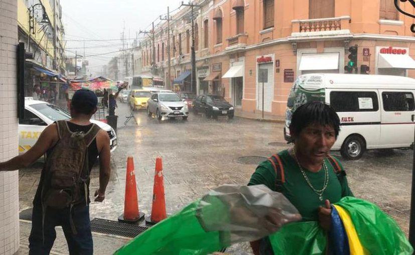Habrá tormentas puntuales fuertes en el noroeste, centro y sur de Yucatán. (Archivo/Sipse)