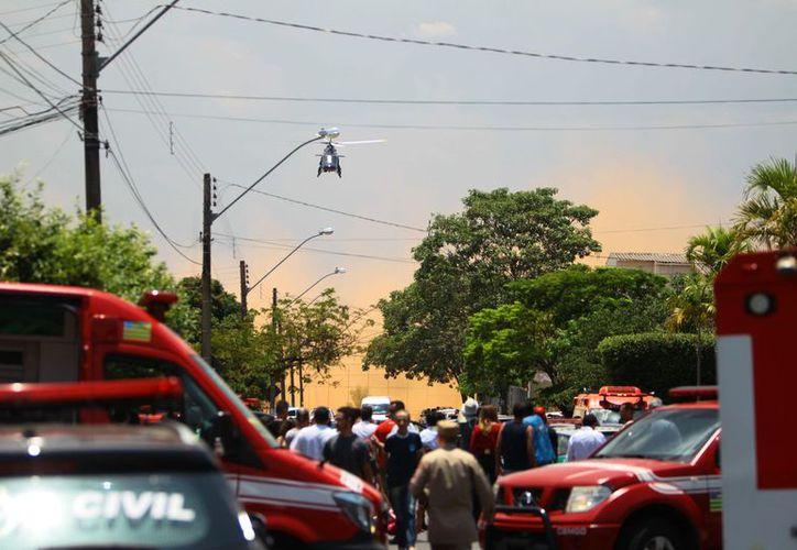 Al menos dos adolescentes fallecieron y otros cinco fueron heridos en un tiroteo en Brasil. (AP).