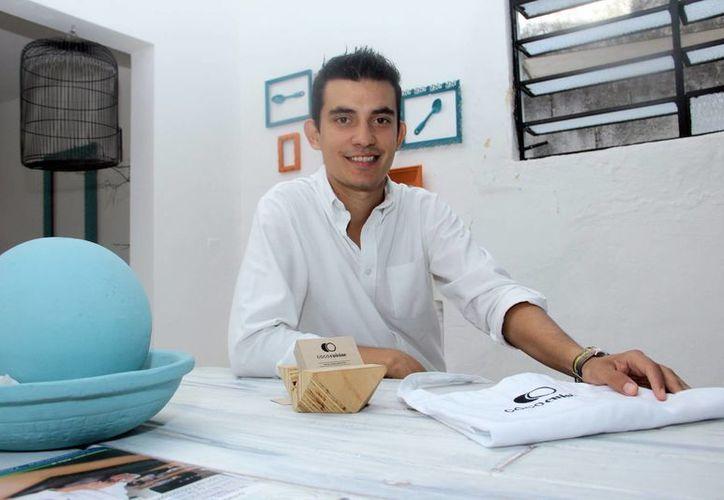 'Aunque este negocio es diferente al otro, siempre tuve la idea de brindarles experiencias memorables a mis clientes, y en ambos negocios se logra, uno en la zona de combate y el otro en la cocina', aseguró Sergio González Alonso. (Milenio Novedades)