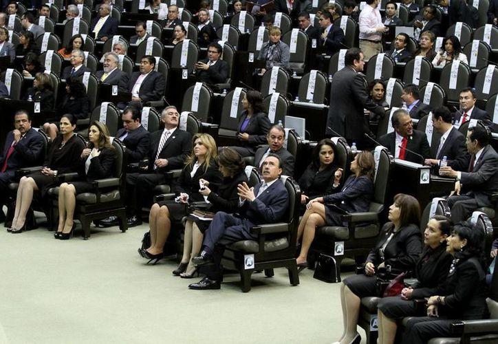 El primer asunto que se discutirá en el pleno será la minuta de la Ley de Amparo.  (Notimex/Foto de archivo)