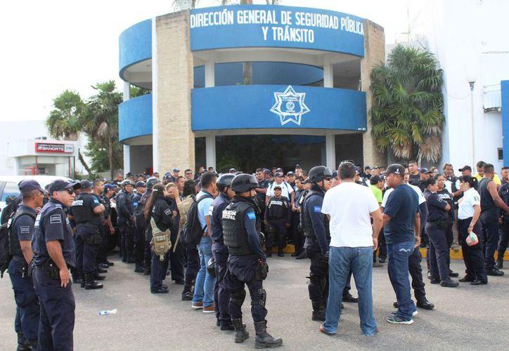 Implementarán acciones para fortalecer las instituciones policiales. (Octavio Martínez/SIPSE)