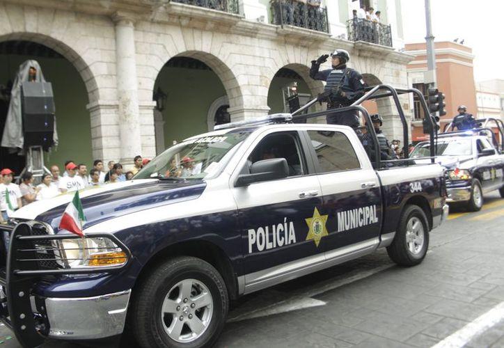 La Policía Municipal extenderá sus operativos de vigilancia en Mérida. (SIPSE)