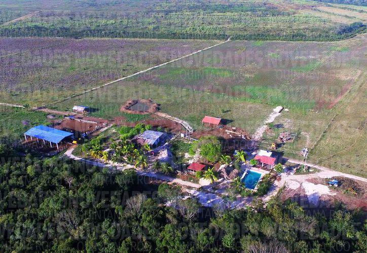 Hacen un llamado a las autoridades de la Profepa, para inspeccionar la devastación que sufrió la zona. (Javier Ortiz/SIPSE)
