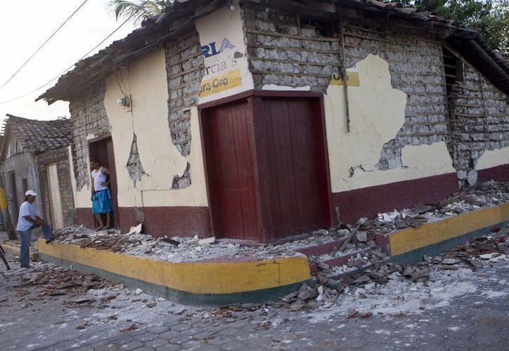 Hasta el momento se contabilizan más de 1600 casas dañadas por el sismo en Nicaragua. (AP)