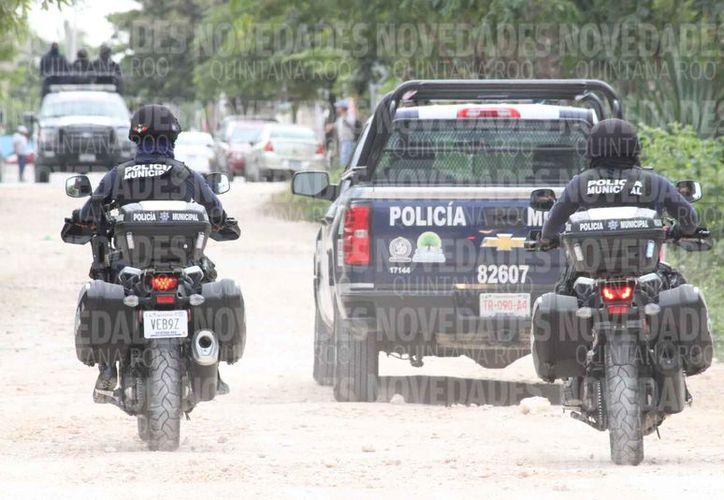 Aportan recursos que se aplicarán en la seguridad pública del estado. (Adrián Barreto/SIPSE)